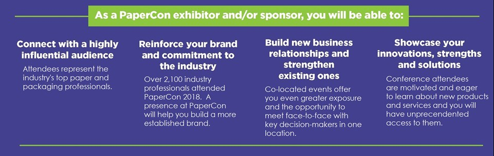 Exhibitor and Sponsor Benefits